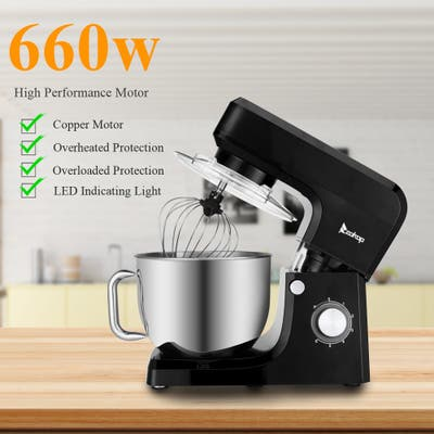 660W Chef Machine 5.5L/7L Mixing Pot with Handle