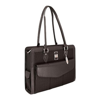 "Mobile Edge Women's Onyx Geneva Notebook Case- 16""PC/17""Mac Black - us women's one size (size none)"