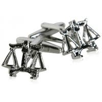 Lawyer Scale Of Justice Legal Law Attorney Judge Cufflinks