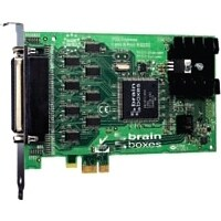 """Brainboxes PX-279 Brainboxes PX-279 8-port Multiport Serial Adapter - PCI Express x1 - 8 x DB-9 Male RS-232 Serial Via Cable -"