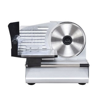 7.5'' Blade Electric Meat Slicer Cheese Deli Meat Food Cutter Kitchen Home