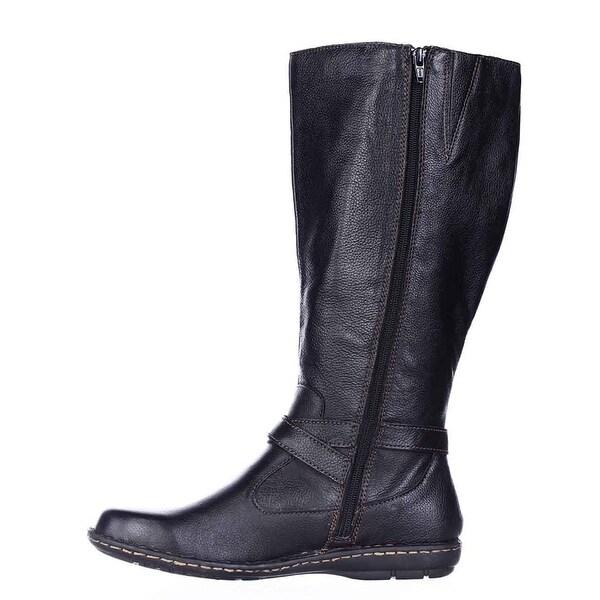 Born Womens Barbana WC Leather Closed Toe Knee High Fashion Boots