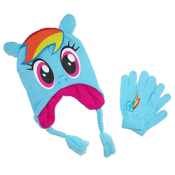 Shop ABG Accessories Kid s My Little Pony Hat and Gloves Winter Set - Free  Shipping On Orders Over  45 - Overstock - 17904753 daa947b41e3