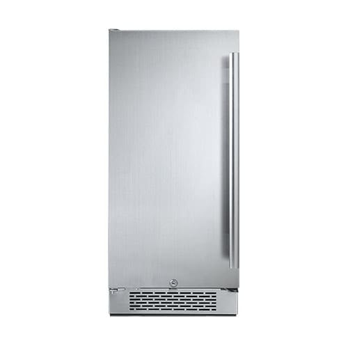 Avallon AFR151LH 15 Inch Wide 3.3 Cu.Ft. Energy Efficient Beverage Center with LED Lighting, Bonus In-Door Storage, Touch