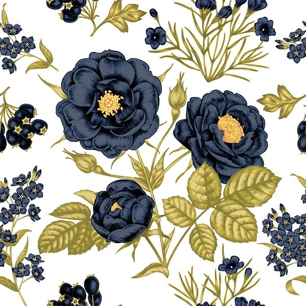 Paeonia Peony Removable Wallpaper - 24'' inch x 10'ft