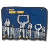 Vise Grip VGP2076709 6 Piece Fast Release Locking Plier Set