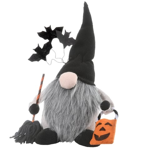 """10"""" Halloween Gnome with Bats"""