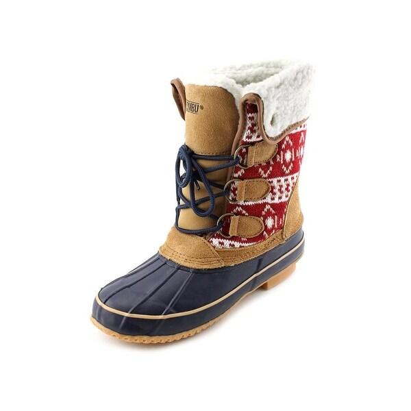 Khombu Maya Round Toe Suede Snow Boot