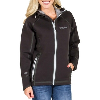 Stormr Women's Typhoon Black Large Jacket For Harsh Weather Conditions