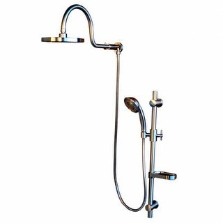 Pulse ShowerSpas 1019-BN Pulse Aqua Rain Shower System, Silver