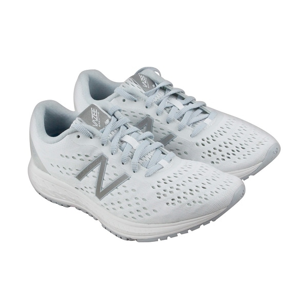 New Balance Course Womens White Textile Athletic Lace Up Running Shoes