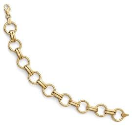 14k Gold Bracelet - 7.75 inches