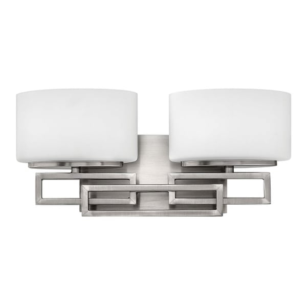 Hinkley Lighting 5102 2 Light Bathroom Vanity Light from the Lanza Collection