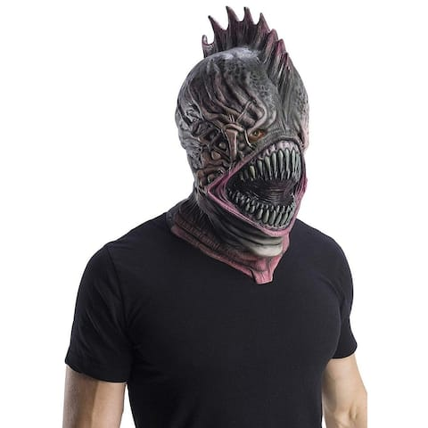 DC Aquaman Movie Trench Person Adult Latex Mask - Black