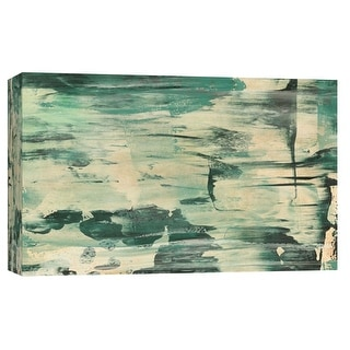 "PTM Images 9-102228  PTM Canvas Collection 8"" x 10"" - ""Meadow Breeze"" Giclee Abstract Art Print on Canvas"
