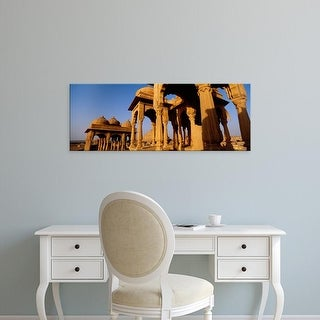 Easy Art Prints Panoramic Images's 'View of monuments at a place of burial, Jaisalmer, Rajasthan, India' Canvas Art
