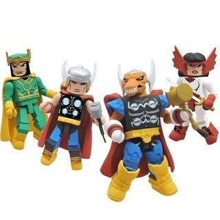 SDCC 2011 Exclusive Marvel Minimates Thor Stormbreaker Box Set - multi