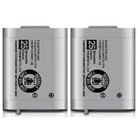 Replacement Battery For Panasonic BTS KX-TD7896 / KX-TD7896 Phone Models (2 Pack)