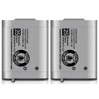 Replacement Battery For Panasonic KX-TG2352S / KX-TGA230 Phone Models (2 Pack)