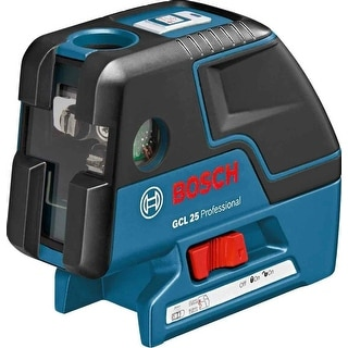 Bosch GCL 25 Self Leveling Alignment LASER, 5 Point Cross Line LASER LEVEL
