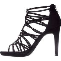 Bar III Womens Brooke2 Fabric Open Toe Casual Strappy Sandals