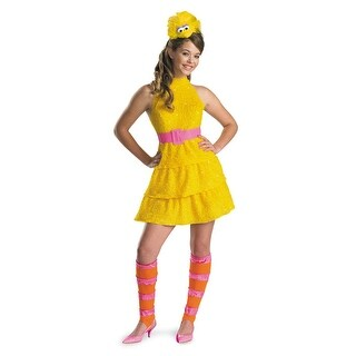 Disguise Sesame Street Big Bird Plush Tween Costume - YELLOW (2 options available)