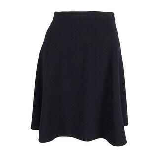 Tahari Women's Petite Seamed A-Line Skirt