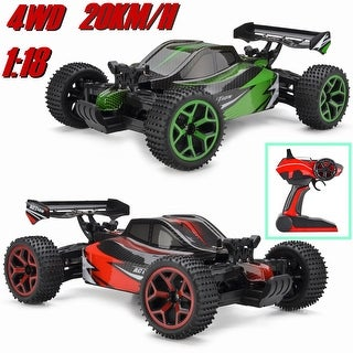 1/18 RC Buggy Racing Car 4WD High Speed Remote Control Off-Road Truck Toy Vehicle