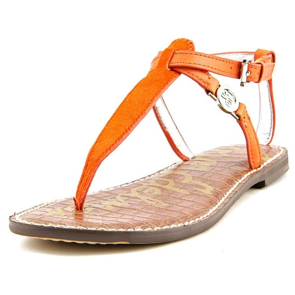 90615d1bc828 Shop Sam Edelman Galia Women Orange Sandals - Free Shipping On ...