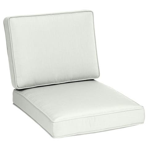 Arden Selections Oasis Firm Deep Seat Cushion Set