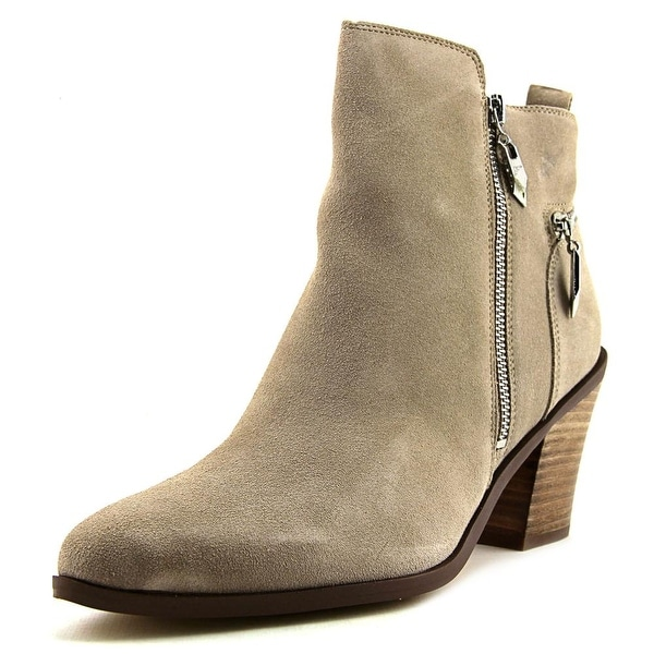 Fergie Bianca Women Pointed Toe Suede Gray Bootie
