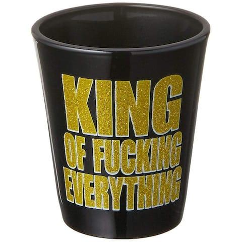 King of F-Ing Everything 1.5oz Shot Glass - Multi