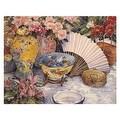 ''Oriental Splendor'' by Joy Waldman Mini-Prints Art Print (11 x 14 in.) - Thumbnail 0