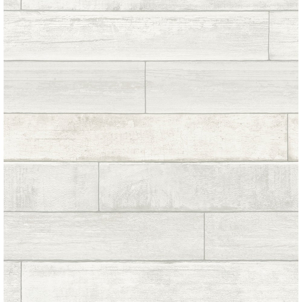 Brewster  HN002634   Kids 56-3/8 Square Foot - Wallace - Unpasted Paper Wallpaper - White / Off-White (White / Off-White)