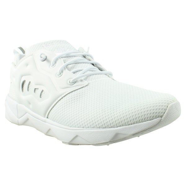 d899cad9d72 Shop Reebok Mens Ar1442 White Running Shoes Size 8 - Free Shipping ...