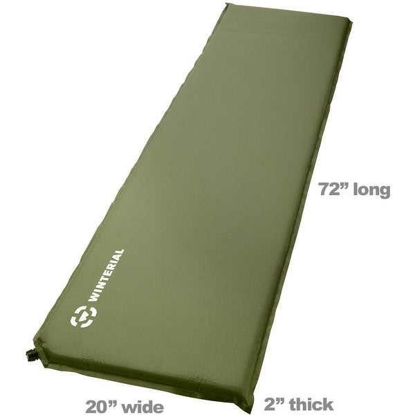 Shop Winterial Lightweight Self Inflating Backpacking And