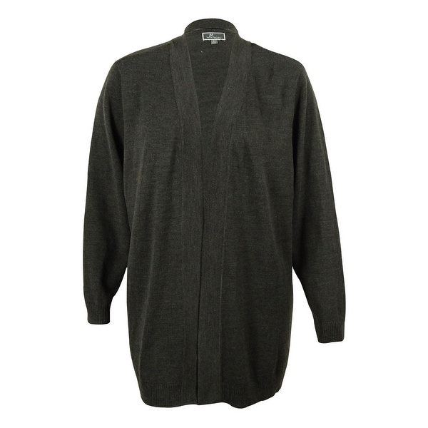 JM Collection Women's Open Front Cardigan