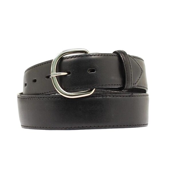 "M&F Western Belt Mens 1.5"" Leather Money Leather Black 0"