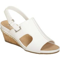 786480ee1 Shop A2 by Aerosoles Women s Lotus Plush Wedge Sandal White Faux ...