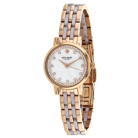 Kate Spade Women's Mini Monterey Mother of Pearl Dial Watch - KSW1265 - One Size