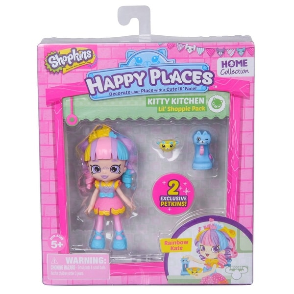 Shopkins Happy Places Single Pack Kitty Kitchen Rainbow Kate