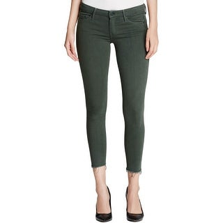 Mother Womens Emer Ankle Jeans Skinny Fit Ankle Fray - 26