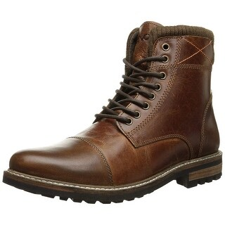 Crevo Men's Camden Fashion Boot, Chestnut Leather, 8.5 M Us