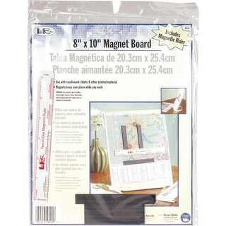 "Loran Magnet Board 8""X10"" & 6"" Ruler"