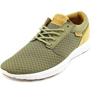 Supra Hammer Run Men Round Toe Synthetic Green Sneakers
