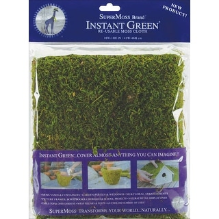 """Moss Mat 18""""X16""""-Green - Green"""