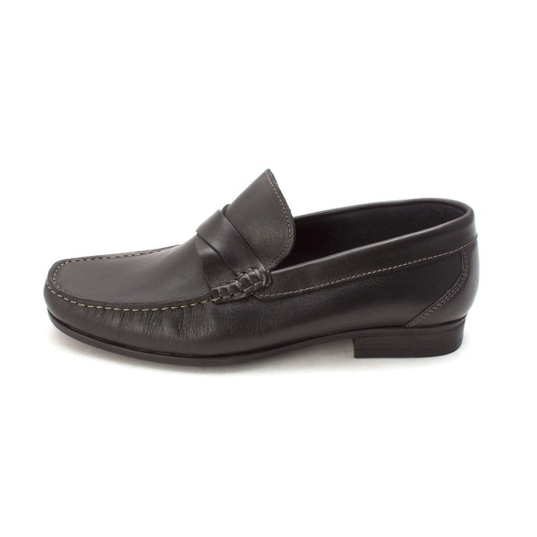Sandro Mens Diego Leather Closed Toe Slip On Shoes - 8.5