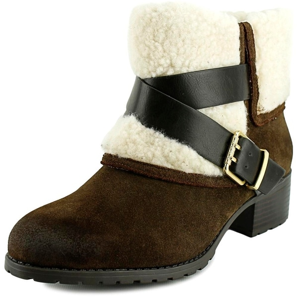 Charles By Charles David Jen Women Round Toe Leather Ankle Boot