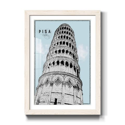 Mid Modern Pisa-Premium Framed Print - Ready to Hang