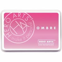 Hero Arts 128082 Ombre Ink Pad - Pink To Red